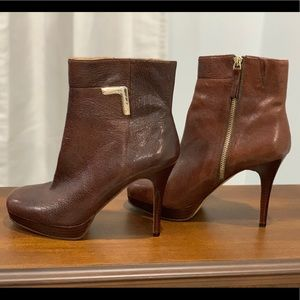 🛍 Nine West (the Earlene) leather boots size 7